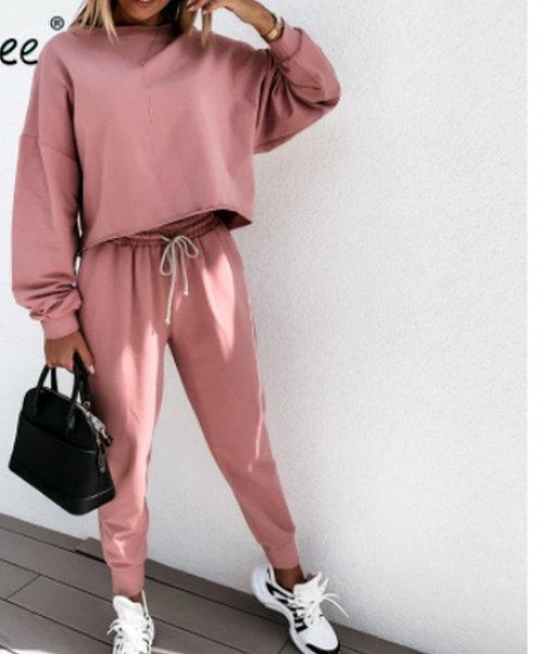 Crop Comfy Loungewear **Pre Order item