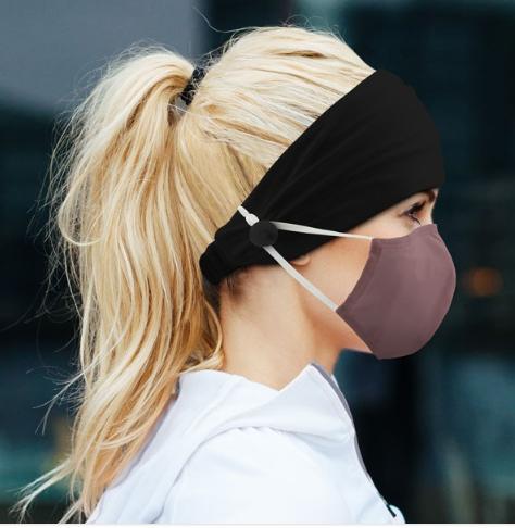 Adult Mask Headband Holder
