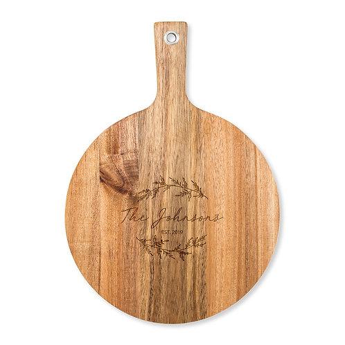 Signature Round Cutting Board