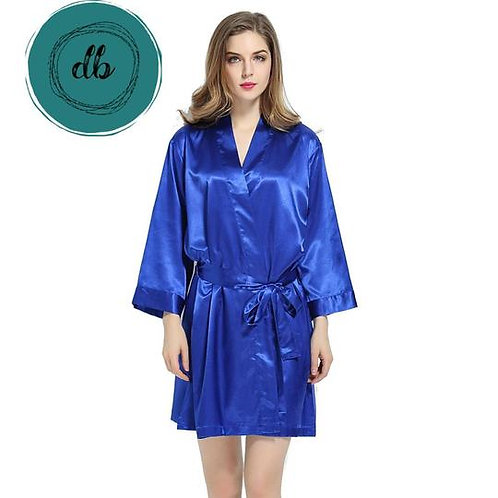 Royal Blue Robe Front Text