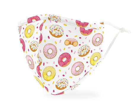 Donut Print Mask Adult