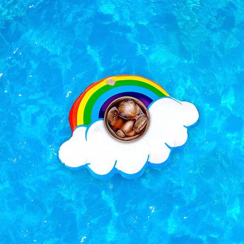 Small Rainbow Drink Floats (3)