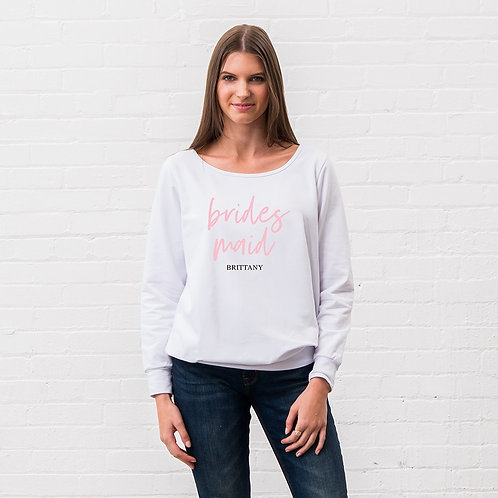 Bridesmaid Sweater