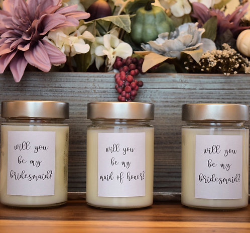 Bridal Party Candle