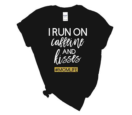 Caffeine & Kisses Tshirt