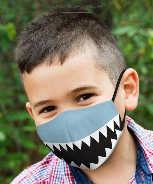 Shark Mask Children
