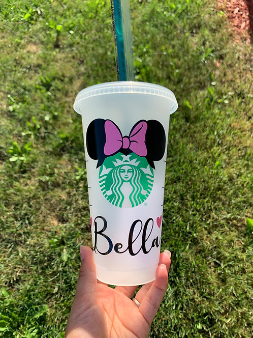 Minnie Starbucks Tumbler