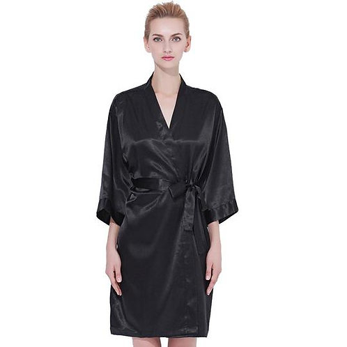 Black Robe Front Text