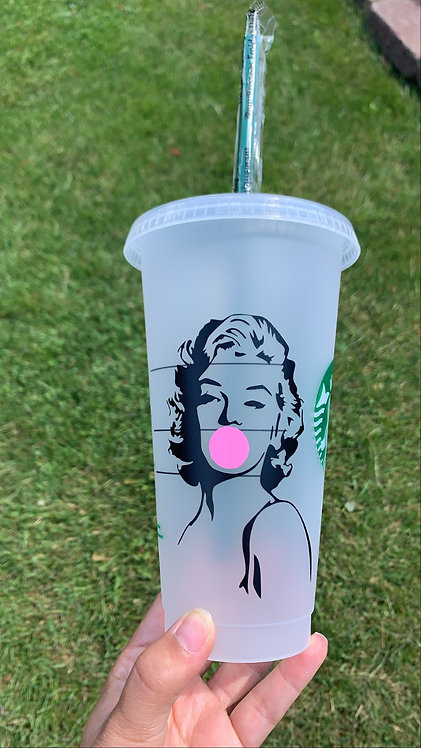 Marilyn Starbucks Tumbler