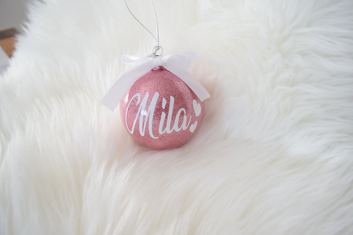 Personalized Ornament <3