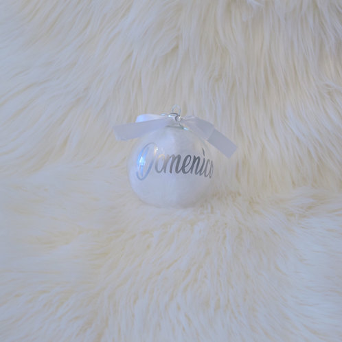 Name Feather ornament