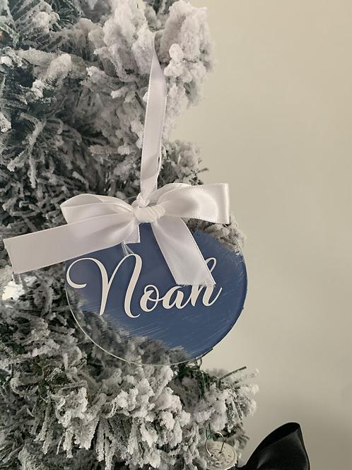 Name Acrylic Ornament