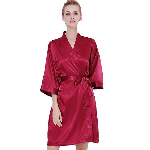 Burgundy Robe Back Text