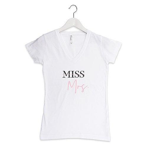 Miss to Mrs Tshirt