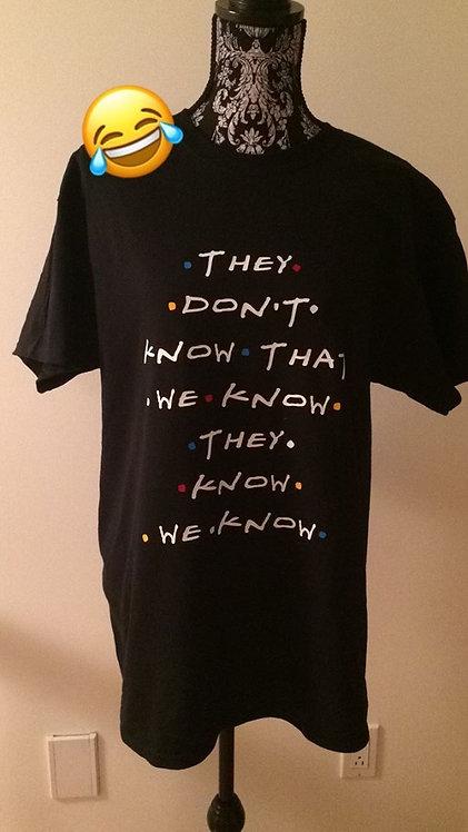 Friends tshirt unisex