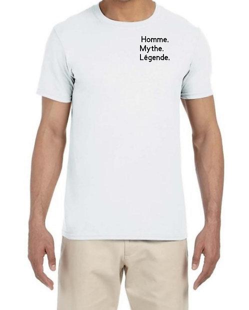 Homme, Mythe, Legende Tshirt