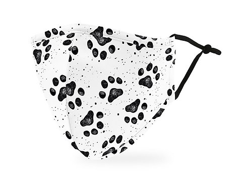 Adult Paw Print Mask Adult