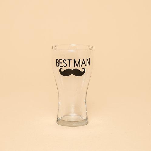 Best Man / Groomsman Beer Glass