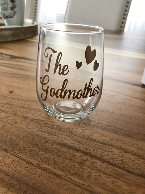Godmother Stemless Wine