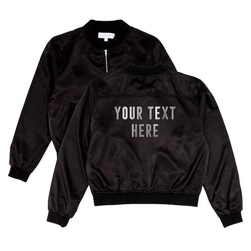 Block Letter  Baumer Jacket