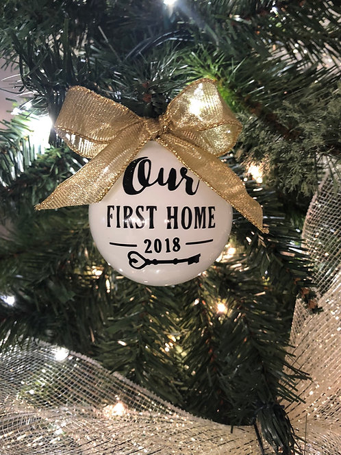 First Home Ornament