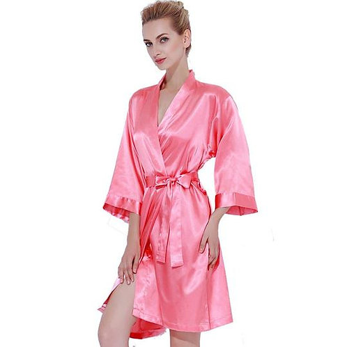 Coral Robe Back Text