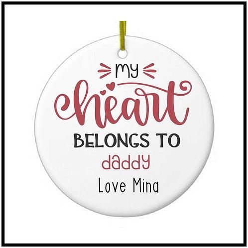 Heart belongs to daddy
