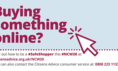 Tips for shopping safely online with National Consumer Week
