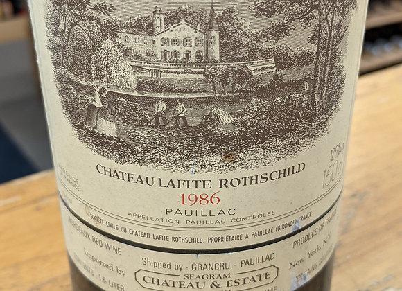 1986 Chateau Lafite Rothschild