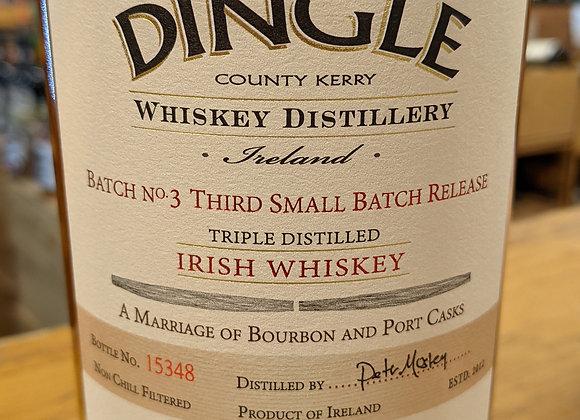 Dingle Irish Whiskey Batch No. 3