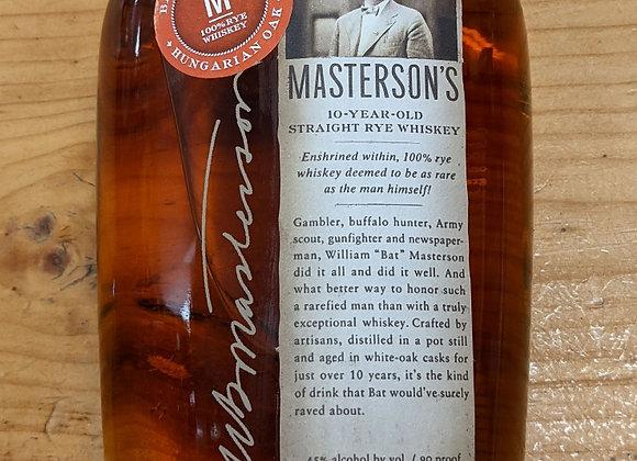 Masterson's 10 Year Hungarian Oak