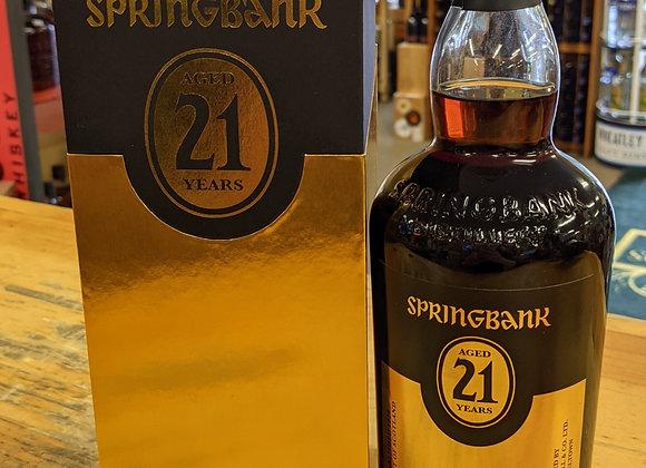 Springbank 21 Year