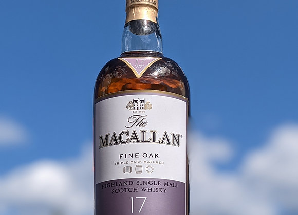 The Macallan 17 Year Fine Oak