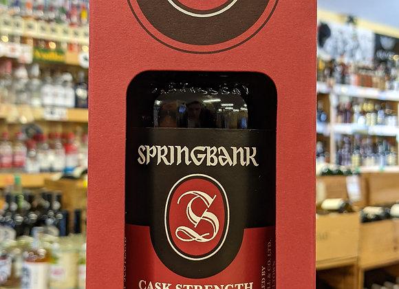 Springbank 12Year Cask Strength