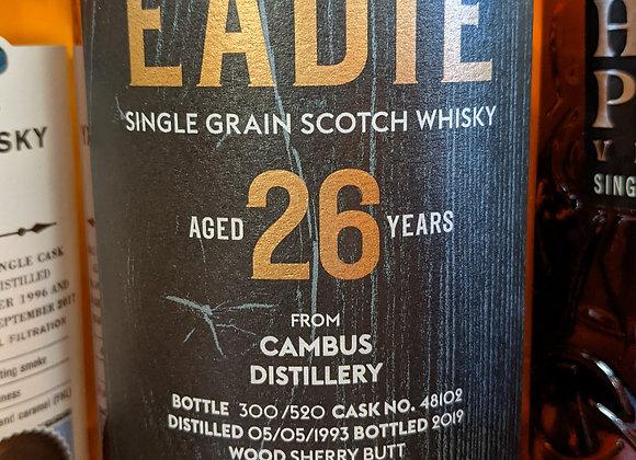 James Eadie 26 Year Cambus Distillery