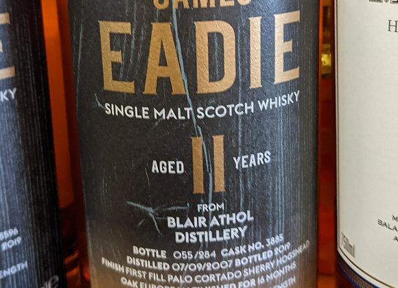 James Eadie 11 Year Blair Athol Distillery