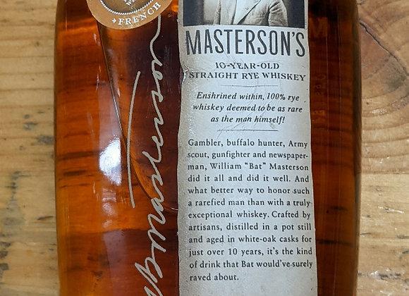 Masterson's 10 Year French Oak