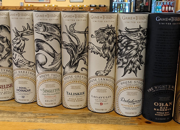 Game of Thrones Scotch Set