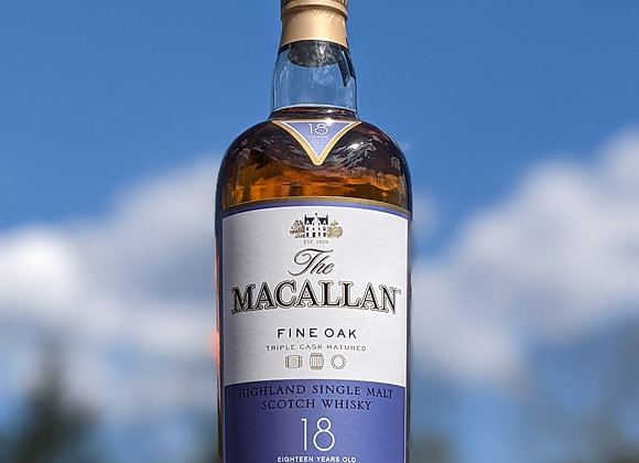The Macallan 18 Year Fine Oak
