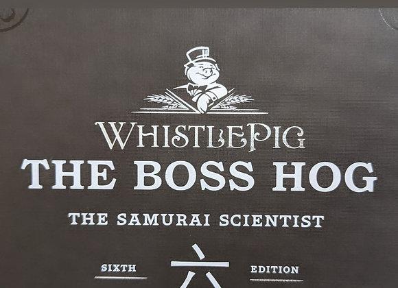 WhistlePig Boss Hog VI ~ The Samurai Scientist
