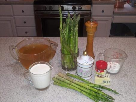 Julie's Cream of Asparagus Soup - Make It - You'll Love It!