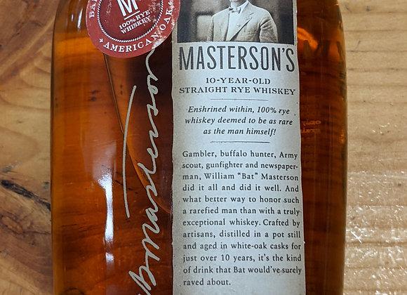 Masterson's 10 Year American Oak