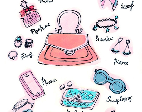 Items in a bag
