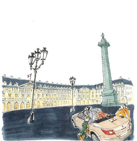 Paris 日産ルノーカレンダー