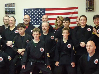 Our Newest Black Belts!