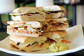 Garlic Chicken Sandwich