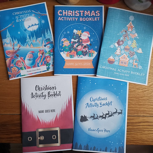Christmas Activity Booklets