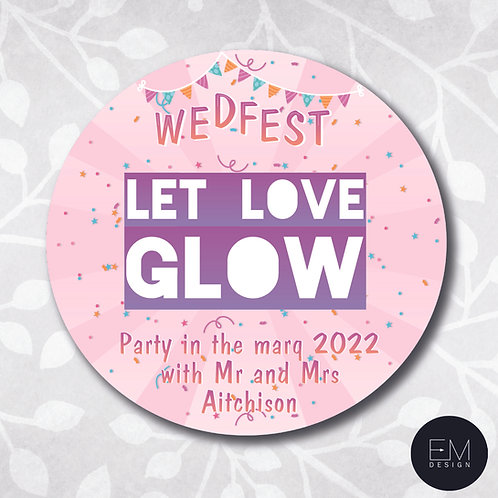 Festival-Style [Let Love Glow Stickers]