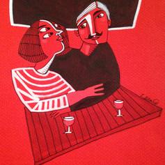 Rouge d'amour