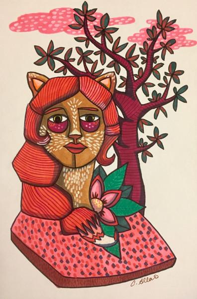 Femme renard